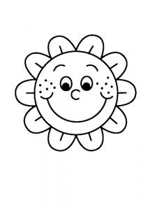 Fleur 009 - motif à imprimer