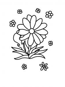 Fleur 010 - motif à imprimer