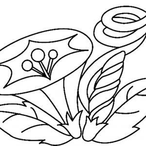 Fleur 014 - motif à imprimer