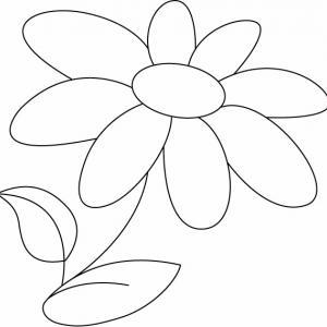 Fleur 019 - motif à imprimer