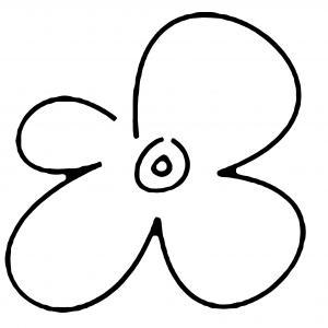 Fleur 020 - motif à imprimer