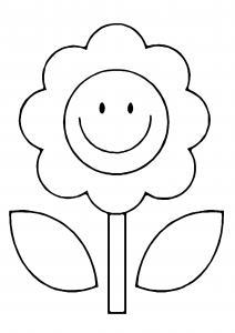 Fleur 021 - motif à imprimer