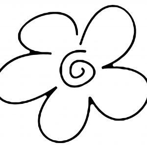 Fleur 022 - motif à imprimer