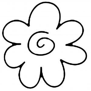 Fleur 023 - motif à imprimer