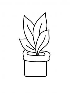 Fleur 024 - motif à imprimer
