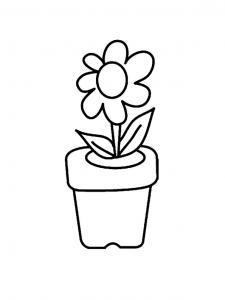Fleur 025 - motif à imprimer