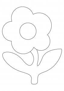 Fleur 027 - motif à imprimer