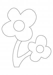 Fleur 029 - motif à imprimer