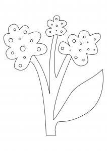 Fleur 032 - motif à imprimer