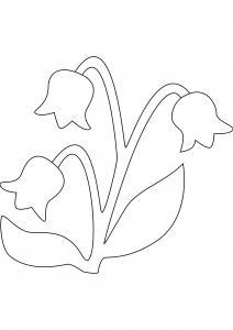 Fleur 034 - motif à imprimer
