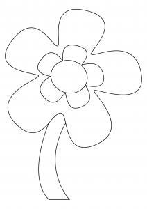 Fleur 037 - motif à imprimer