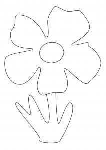 Fleur 038 - motif à imprimer