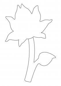 Fleur 039 - motif à imprimer