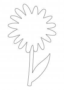 Fleur 040 - motif à imprimer