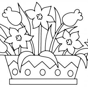 Fleurs 003 - motif à imprimer