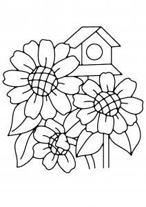 Fleurs 004 - motif à imprimer