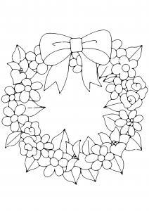 Fleurs 006 - motif à imprimer