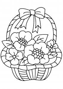 Fleurs 007 - motif à imprimer