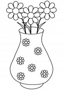 Fleurs 014 - motif à imprimer