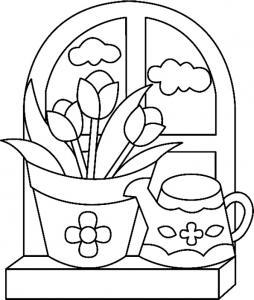Fleurs 015 - motif à imprimer