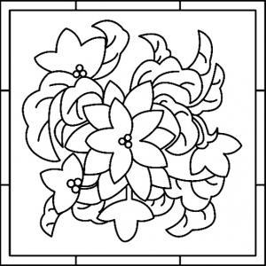 Fleurs 017 - motif à imprimer