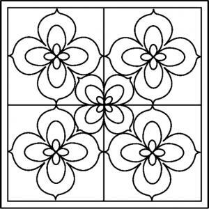 Fleurs 019 - motif à imprimer