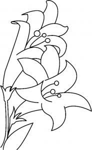 Fleurs 023 - motif à imprimer