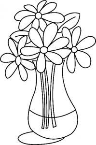 Fleurs 024 - motif à imprimer