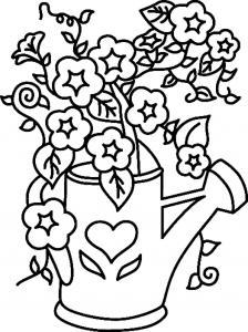 Fleurs 025 - motif à imprimer