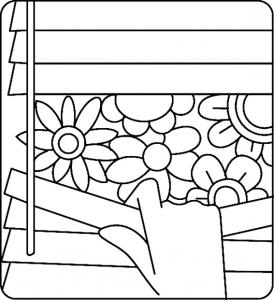 Fleurs 026 - motif à imprimer