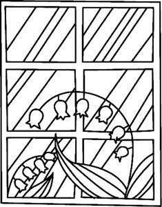 Fleurs 027 - motif à imprimer