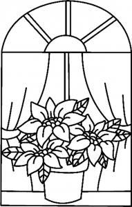 Fleurs 028 - motif à imprimer