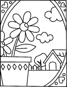 Fleurs 030 - motif à imprimer