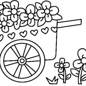 Fleurs 031 - motif à imprimer