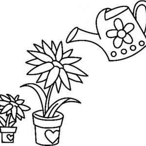 Fleurs 032 - motif à imprimer