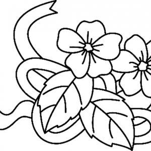 Fleurs 034 - motif à imprimer