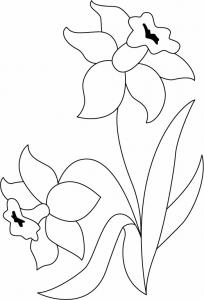 Fleurs 036 - motif à imprimer