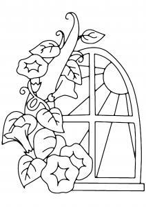 Fleurs 041 - motif à imprimer