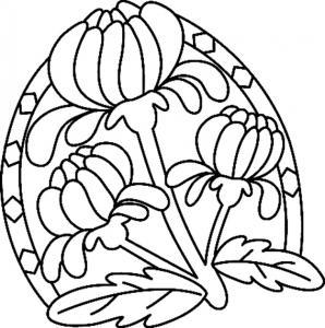 Fleurs 042 - motif à imprimer