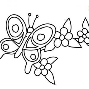 Fleurs 044 - motif à imprimer