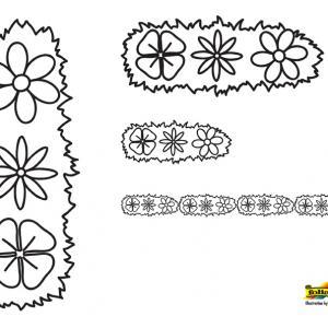 Fleurs 048 - motif à imprimer