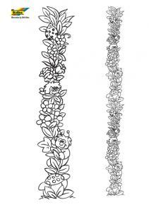 Fleurs 050 - motif à imprimer
