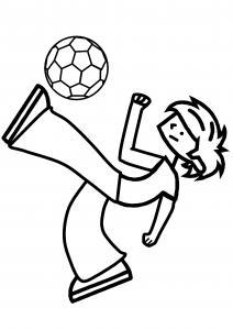 Football 03 - motif à imprimer