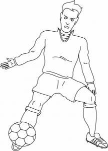 Football 05 - motif à imprimer
