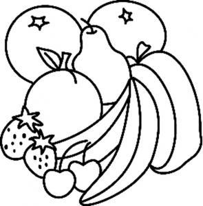 Fruits 03 - motif à imprimer