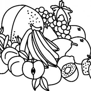 Fruits 05 - motif à imprimer
