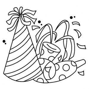 Fête 01 - motif à imprimer