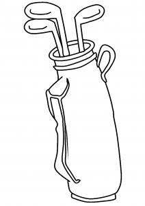 Golf 04 - motif à imprimer