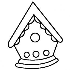 Maisonnette 01 - motif à imprimer