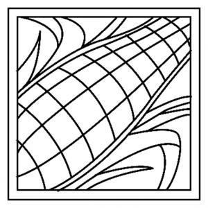 Maïs 01 - motif à imprimer